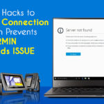 EXCELLENT HACKS TO FIX INTERNET CONNECTION RESTRICTION PREVENTS GARMIN DOWNLOADS ISSUE